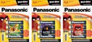 Э/п  PANASONIC LR6  BL 4 Alkaline power Bronze  с наклейкой