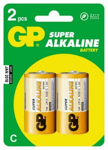 Э/п  GP Super Alkaline LR14-CR2/20/160/
